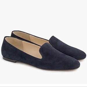 J. Crew Suede smoking slippers - sz 7.5